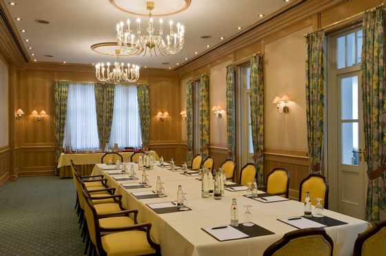Business events Table layout at Precise Bad Reichenhall Bavaria