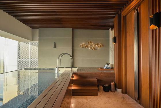 The private pool of Presidential Suite in Vasa Hotel Surabaya
