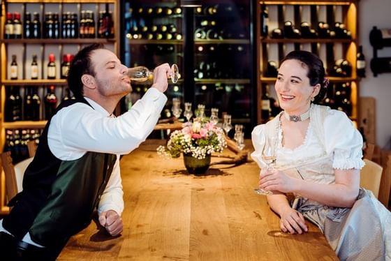 Styrian wedding at Schloss Pichlarn