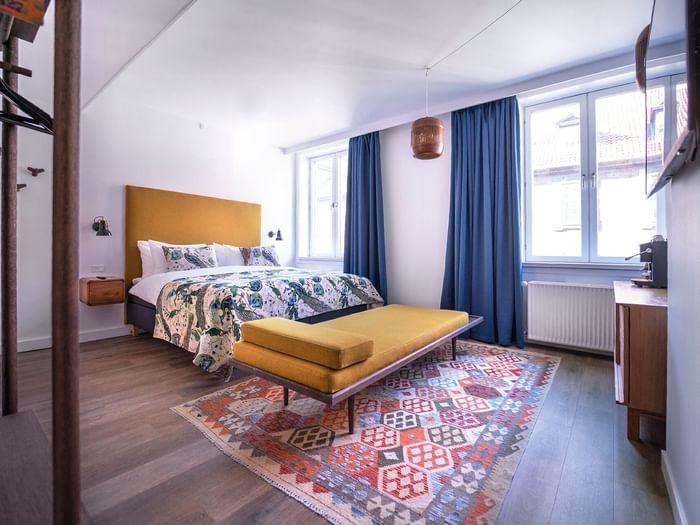 The lux - Deluxe double room at hotel h27 Copenhagen