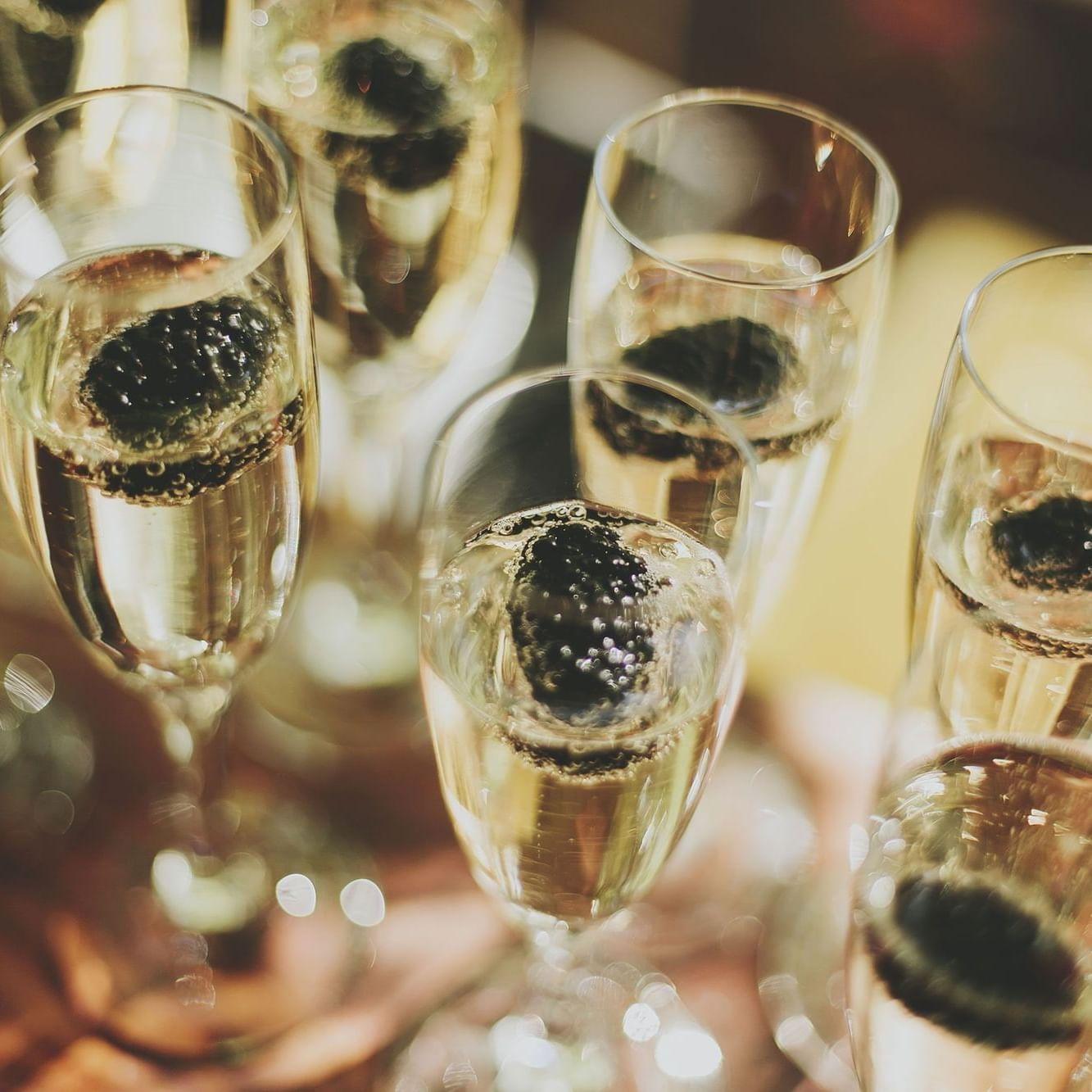 Champagne tasting at the Marbella Club