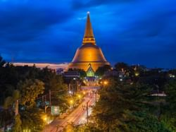 พระปฐมเจดีย์ - Hop Inn Nakhon Pathom (Budget hotel) - โรงแรมราคาประหยัด โรงแรมฮ็อป อินน์ นครปฐม