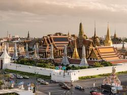 Grand Palace near Chatrium Residence Sathon Bangkok