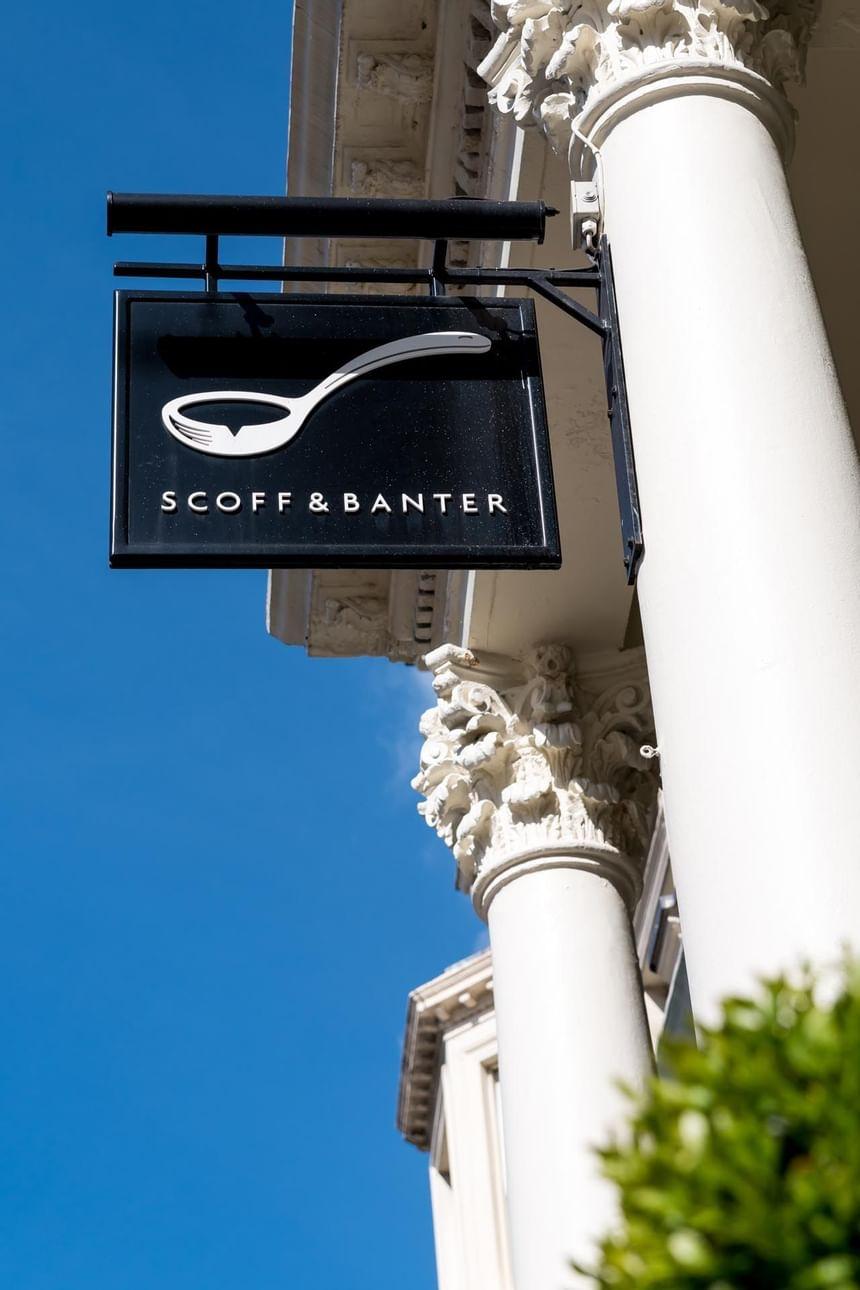 Exterior view of Scoff & Banter