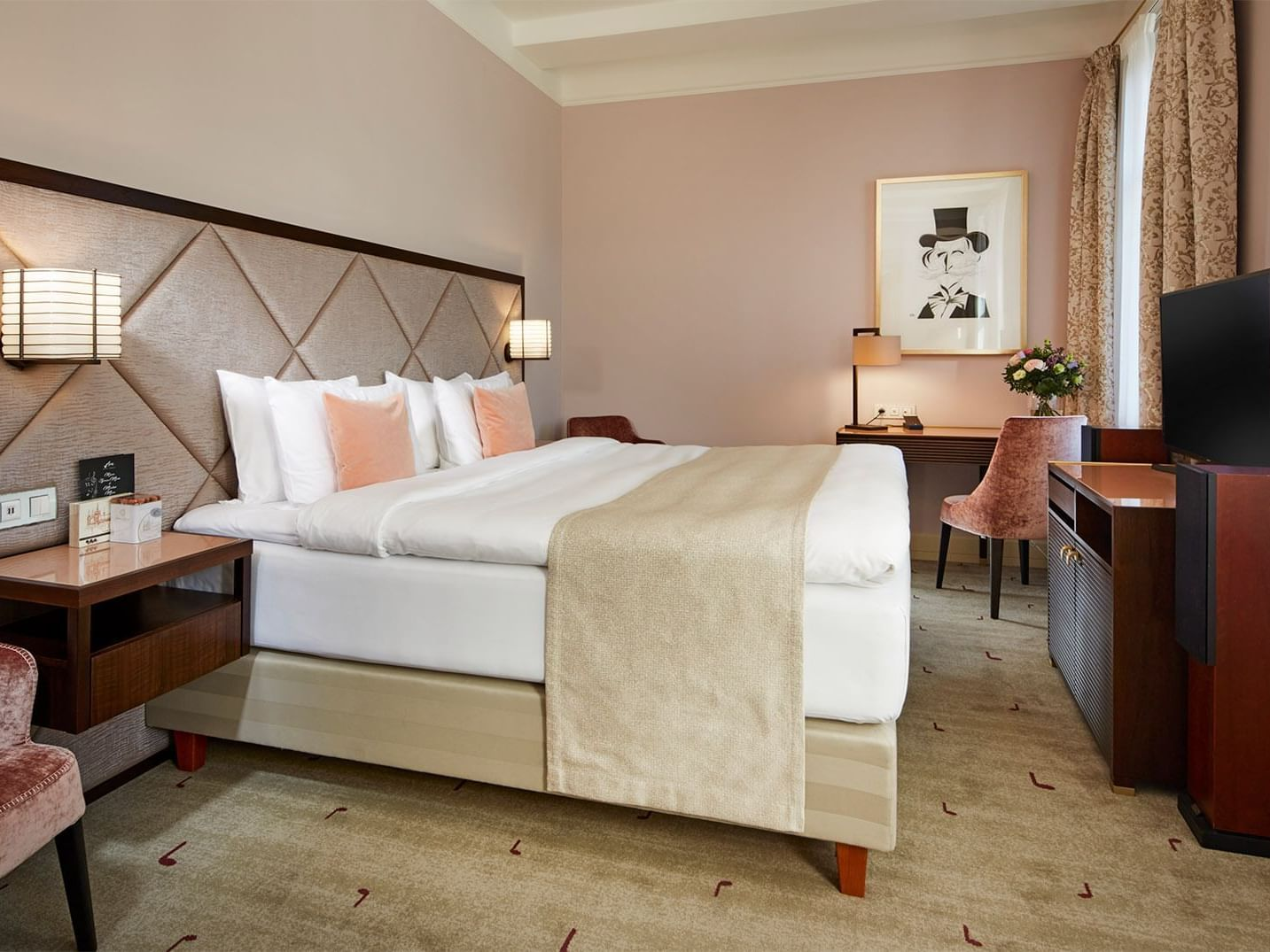 Deluxe Room at Aria Hotel in Prague