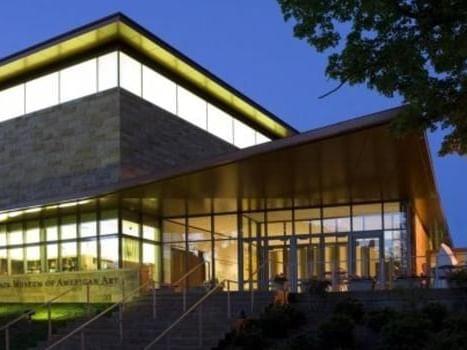 New Britain Museum of American Art  near the Simsbury Inn