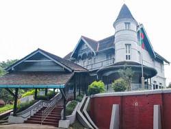 Exterior view of Bogyoke Aung San Museum near Chatrium Hotel Royal Lake Yangon