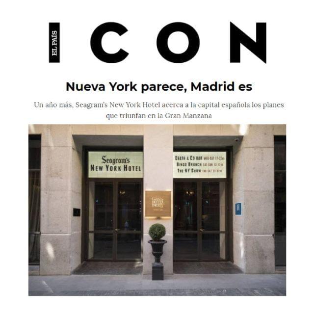 Gran Hotel Ingés en Icon El País