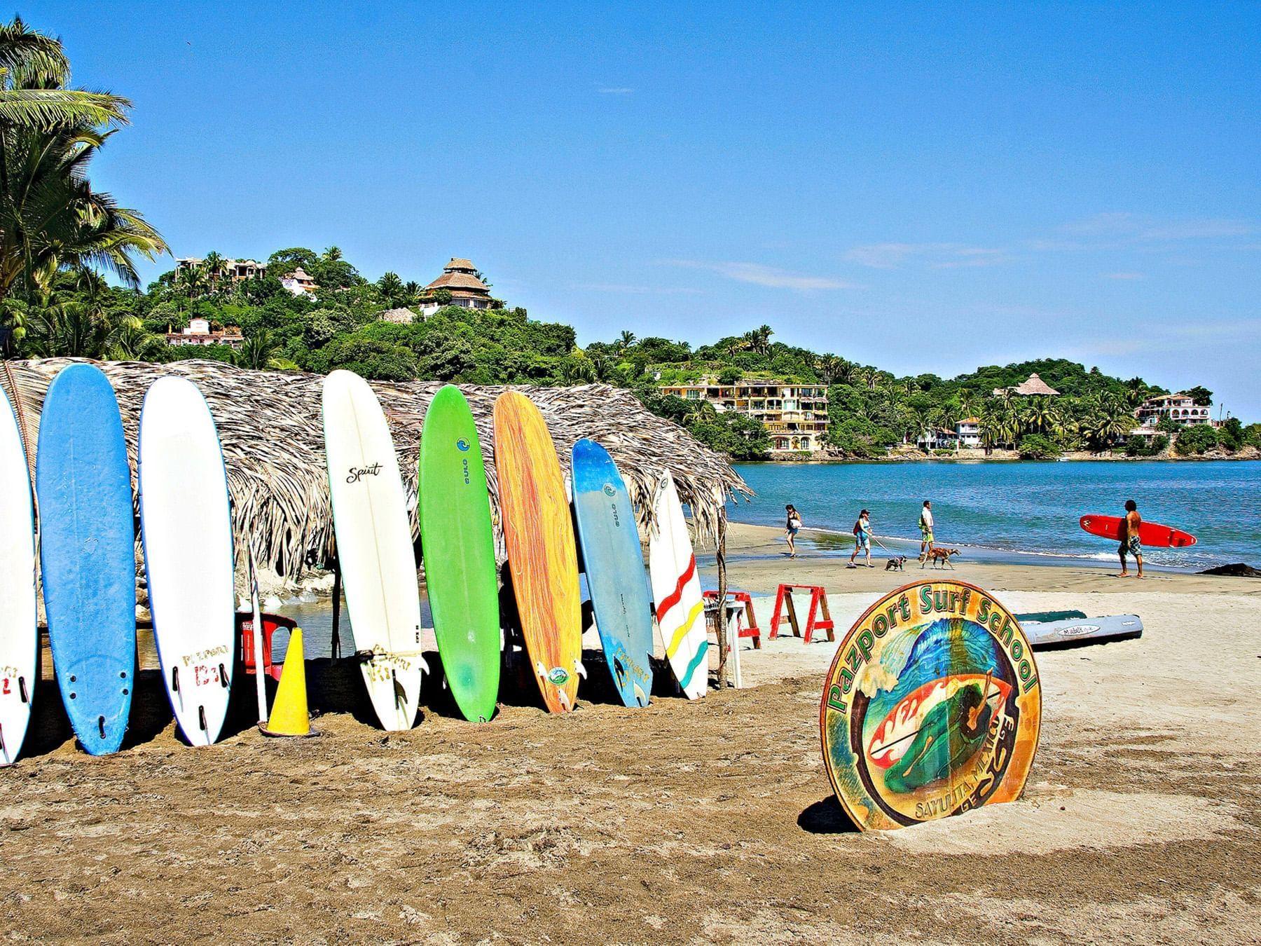 Sayulita Beach at  Plaza Pelicanos Grand Beach Resort Hotel