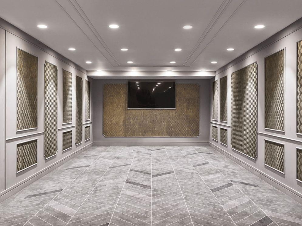 Corridor at Gran Hotel Inglés in Madrid