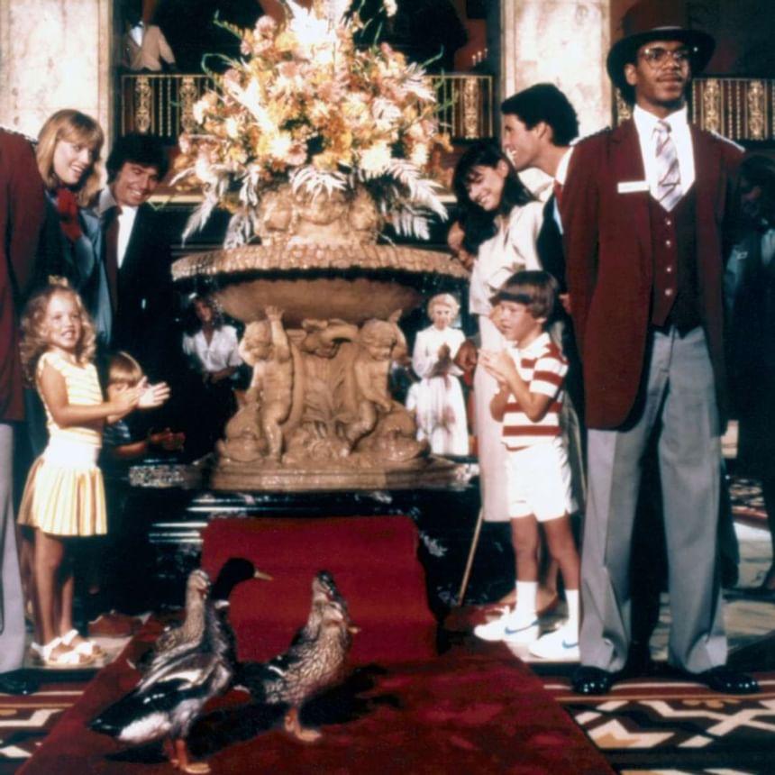 1990 image of Peabody Ducks at Peabody Hotels & Resorts