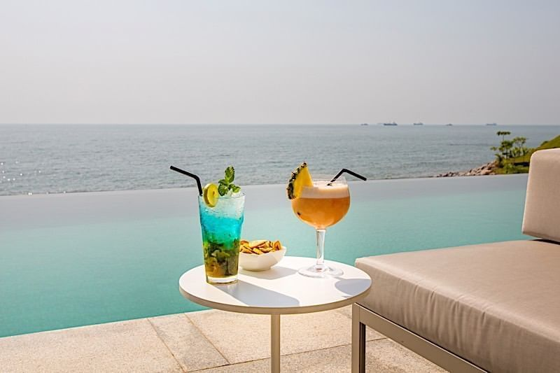 Cocktail à Noom Hotel Conakry