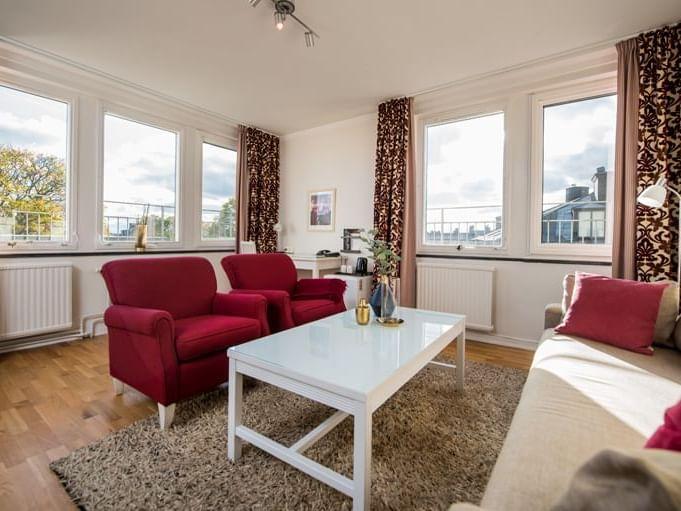 Junior Suite at Hotel Tegnérlunden in Stockholm