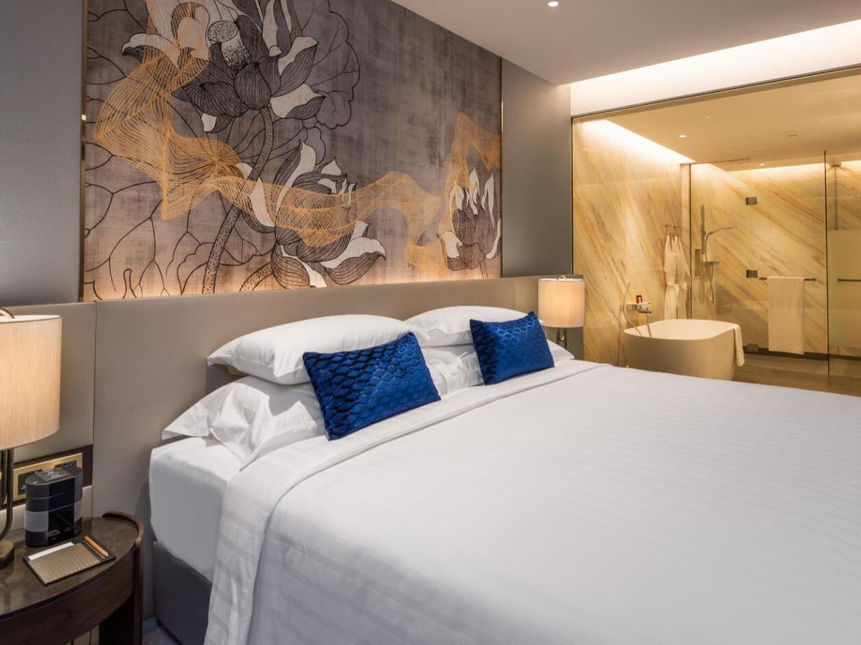 View of a Bedroom at Chatrium Grand Bangkok