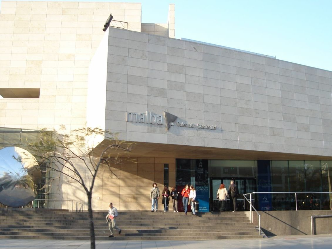 Exterior view of MALBA - Museo de Arte Latinoamericano near Hotel Emperador Buenos Aires