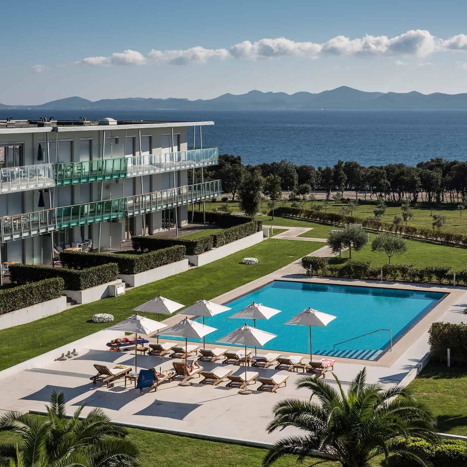Pool at Falkensteiner Premium Apartments Senia