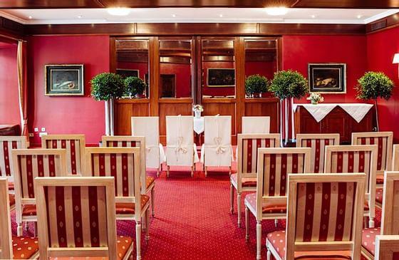 Spiegelsaal I-II - Meeting Room at Romantik Hotel Schloss Pichla