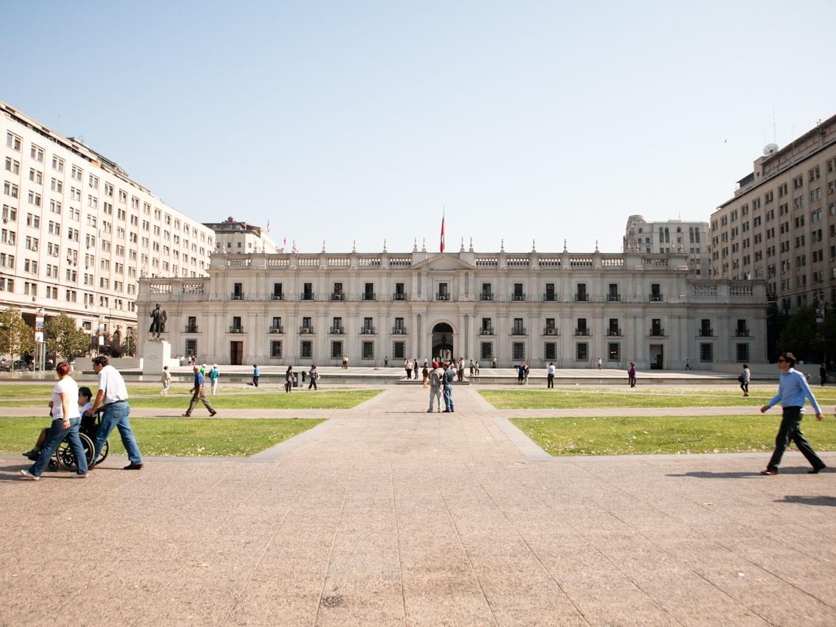 La Moneda Goverment Building