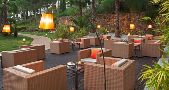 Terrace at Precise Resort El Rompido