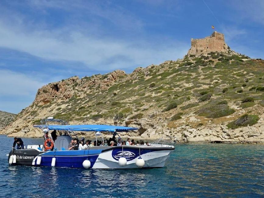 Boat view Cabrera   Mallorca