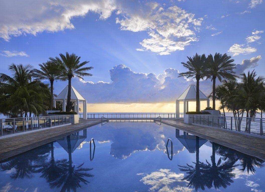 The Diplomat Resort Infinity Pool