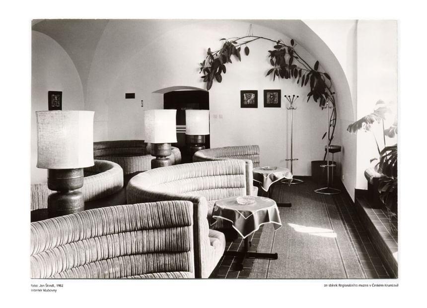 Lobby 1982 - Hotel Ruze, Český Krumlov, Czech Republic