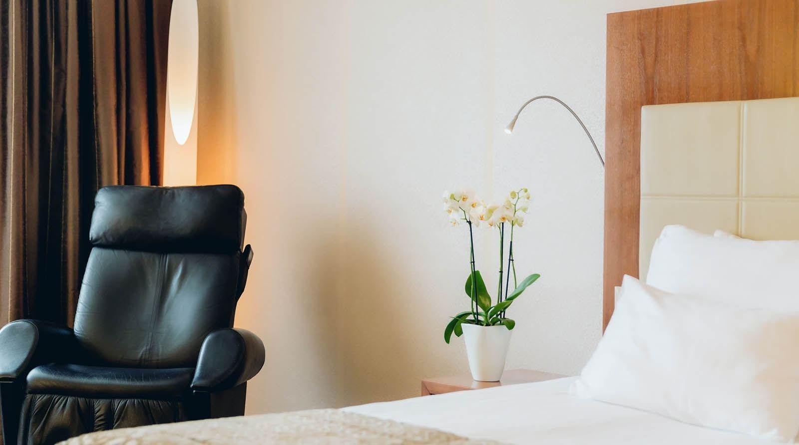 Room at uHotel in Ljubjana