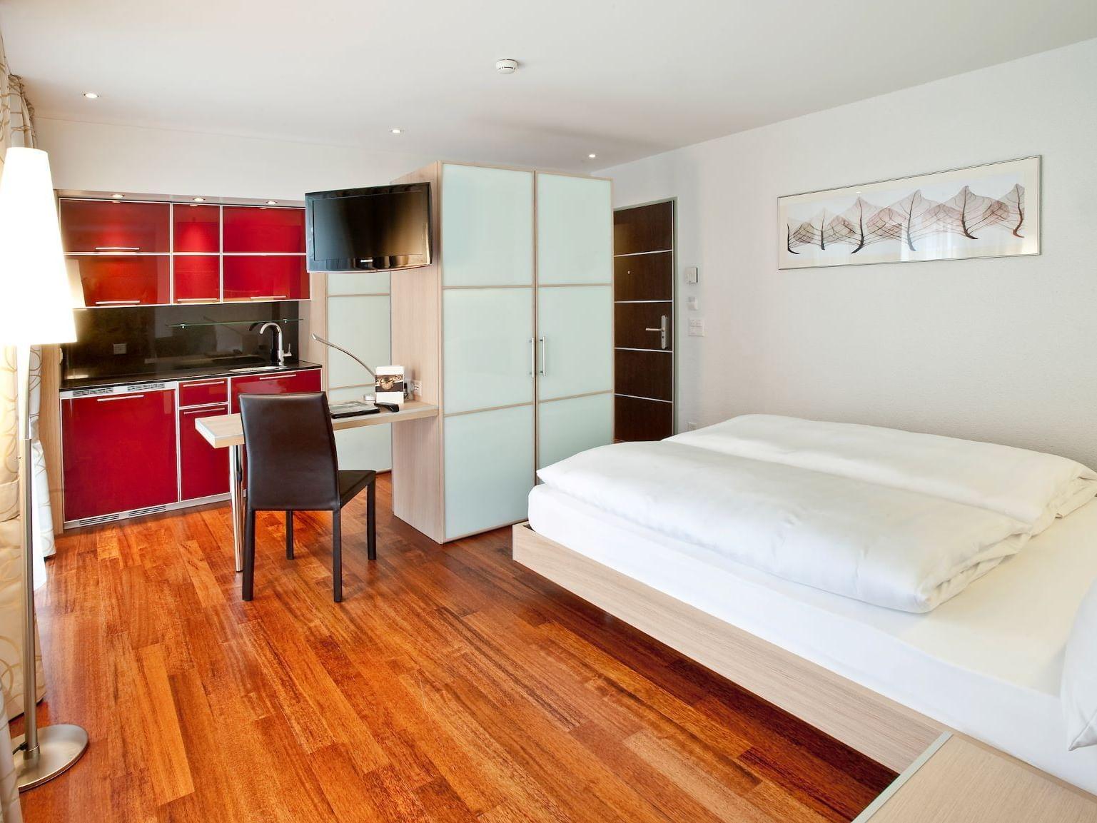 Standard Double Room at Hotel Krone Unterstrass in Zurich
