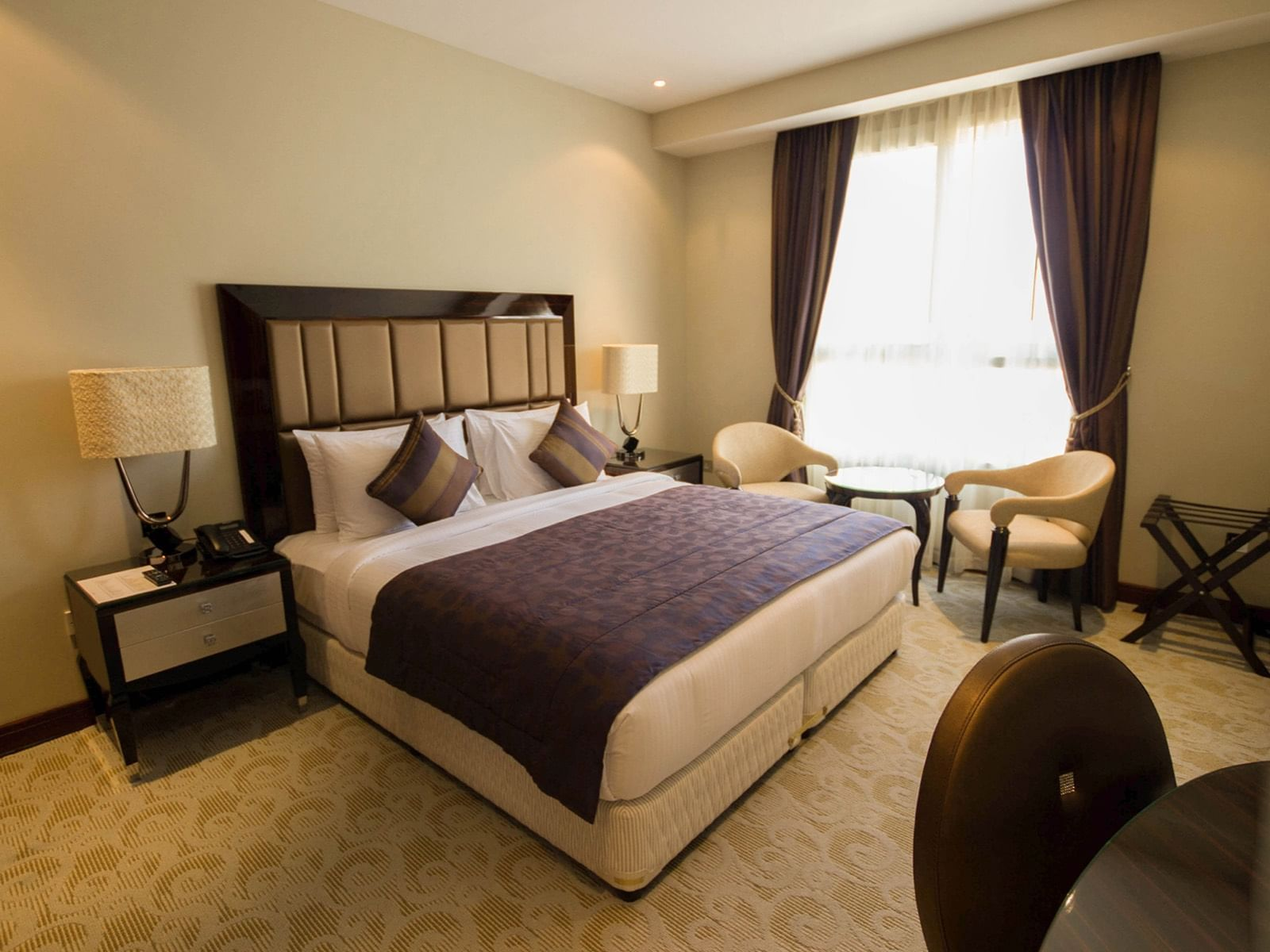 Deluxe Room Desk side at Strato Hotel by Warwick