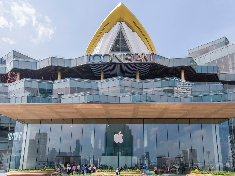 The Exterior view of ICONSIAM Shopping Mall near Chatrium Hotel Riverside Bangkok