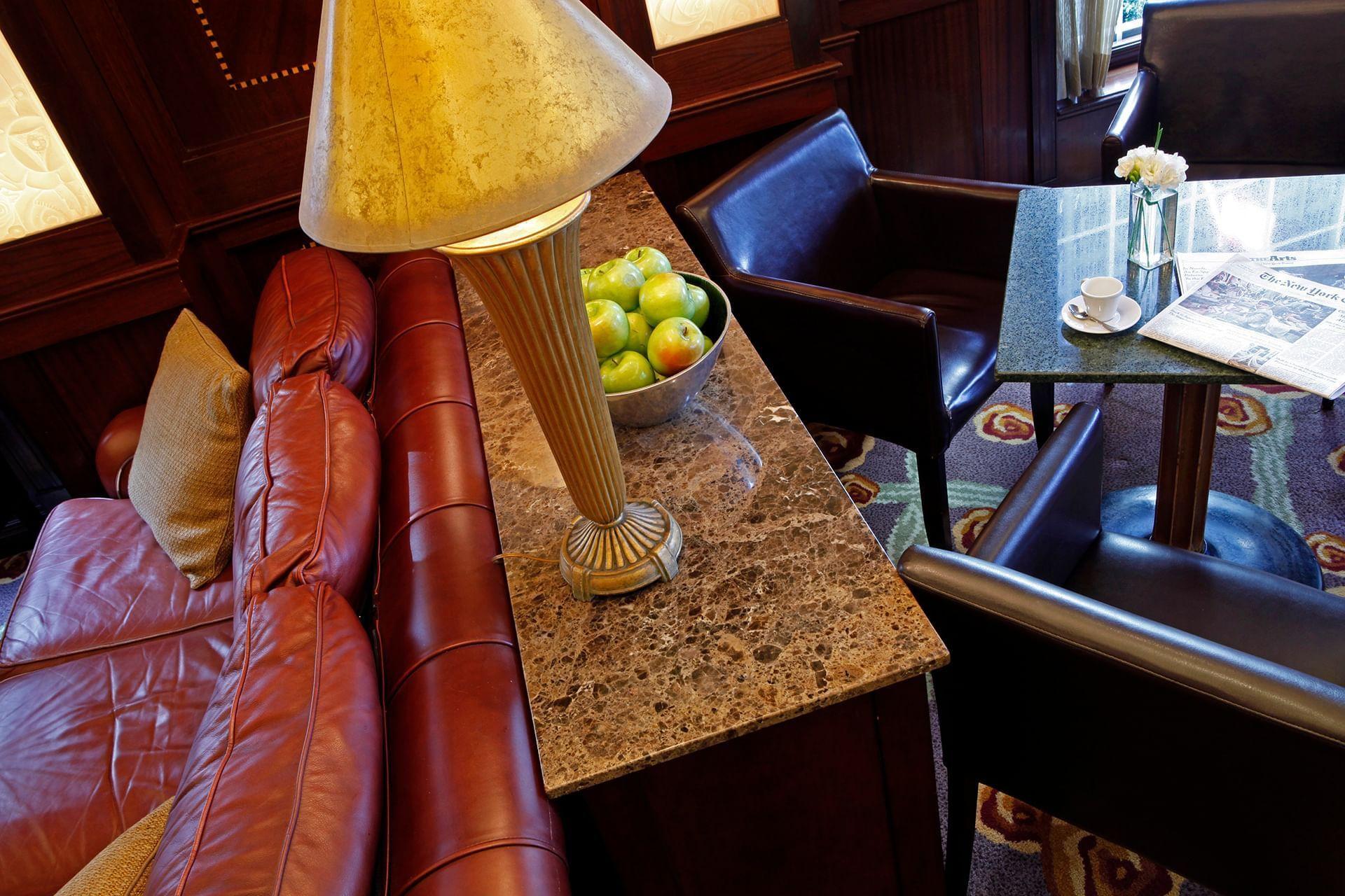 Randolph's Sofa and Table
