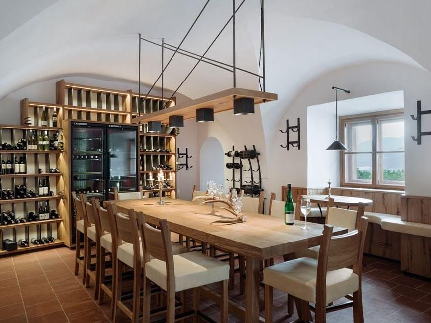 Restaurant at Schloss Pichlarn Hotel in Austria