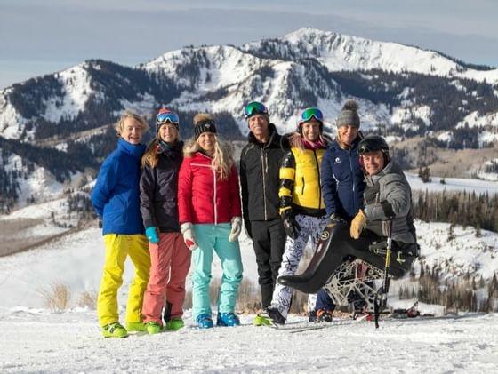 Deer Valley Resort Ski With A Champion Program