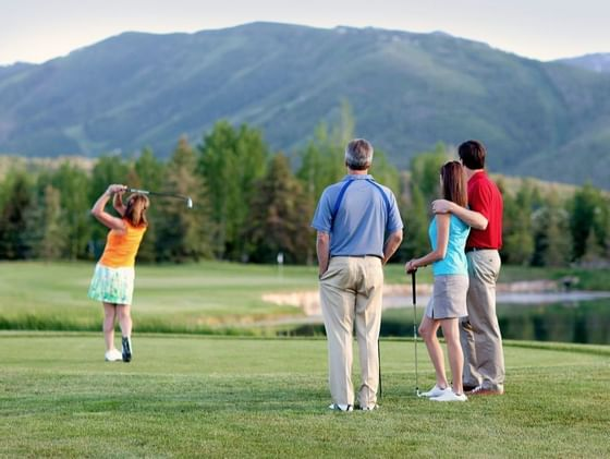 Golf at Park Meadows Country Club