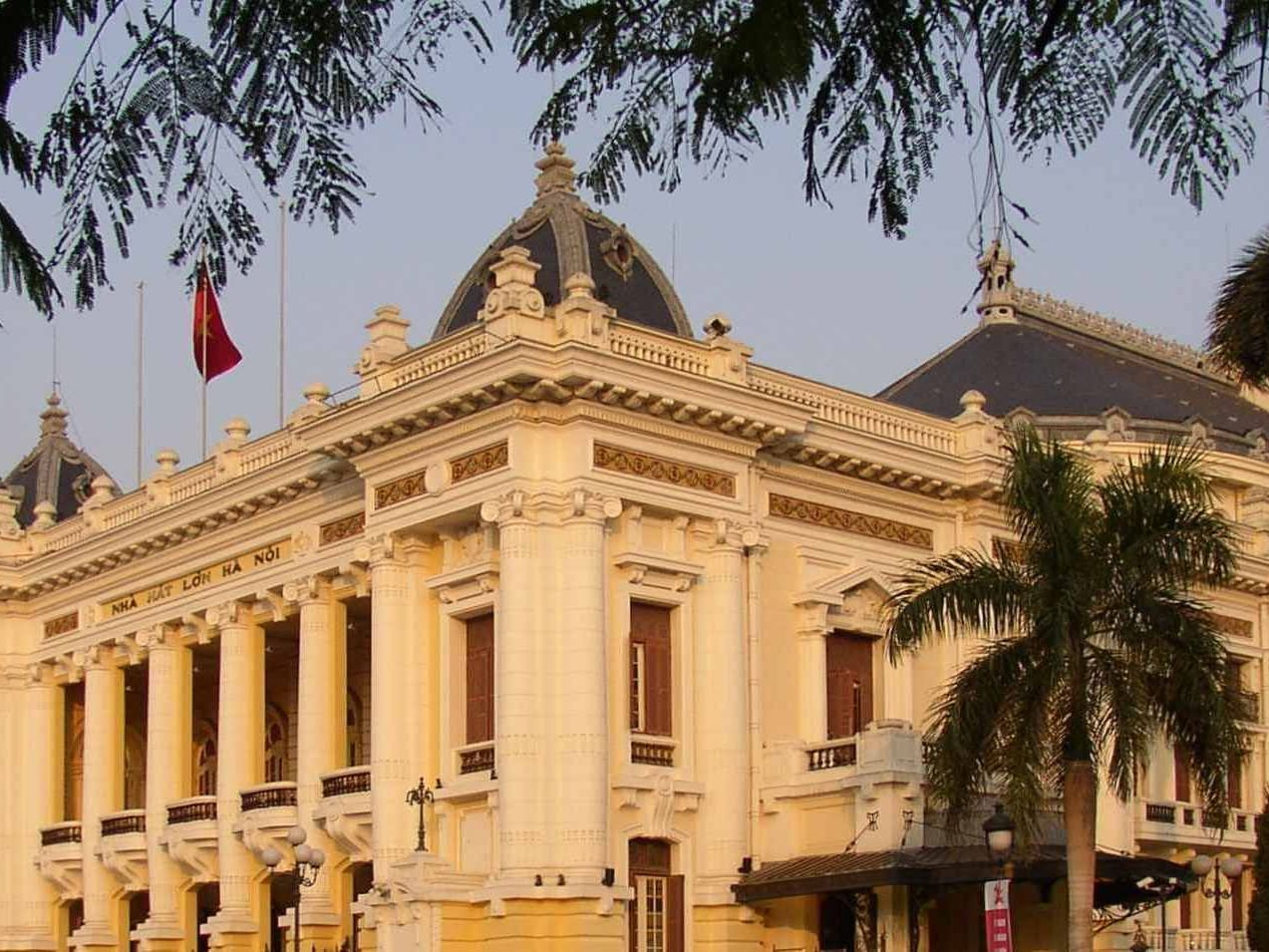 Hanoi Opera House near U Hotels and Resorts