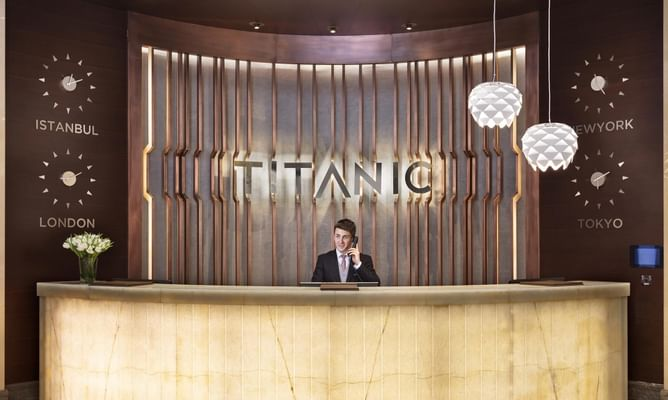 Titanic Business Kartal Lobby