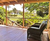 Waimea Plantation Cottages private patio seating