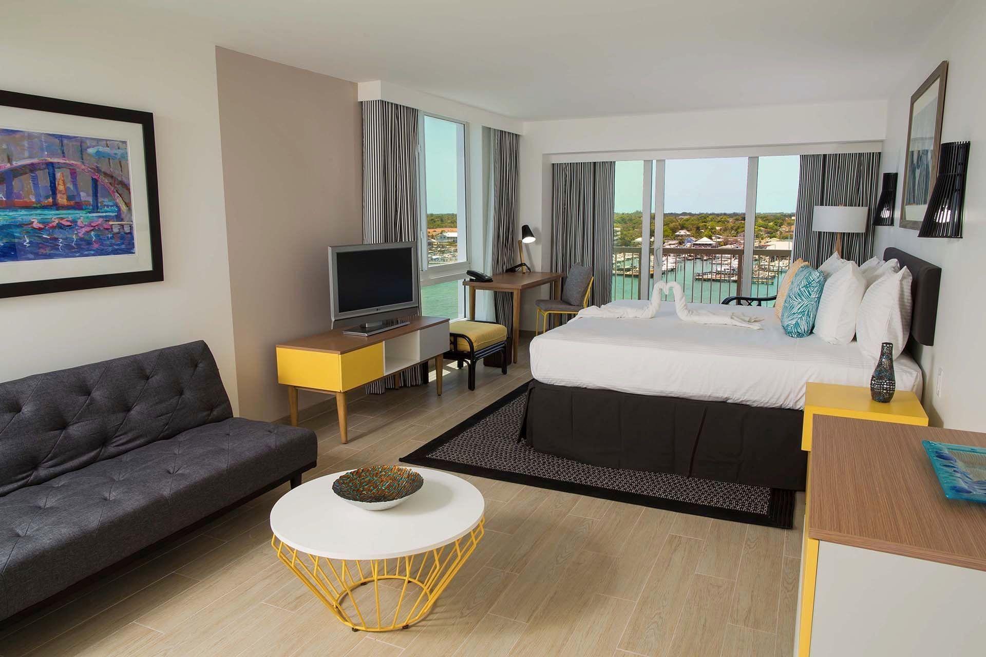 Harbor Premium Balcony King Bedded Room