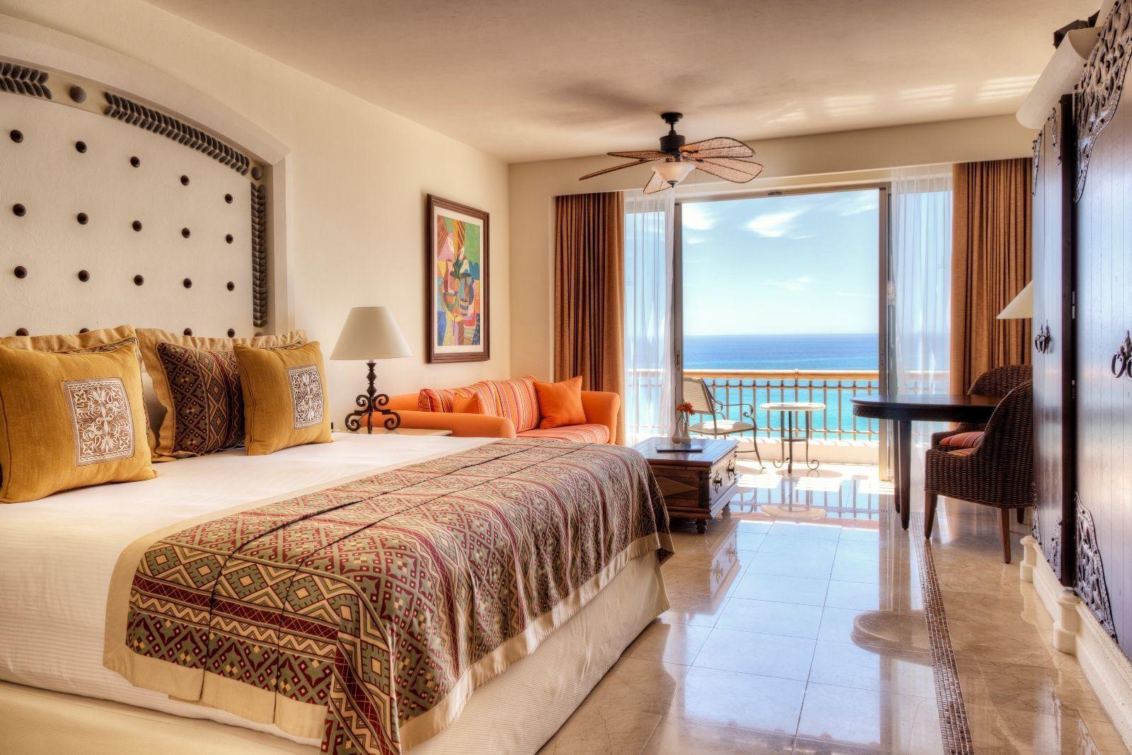 A bed in a hotel room - Marquis Los Cabos