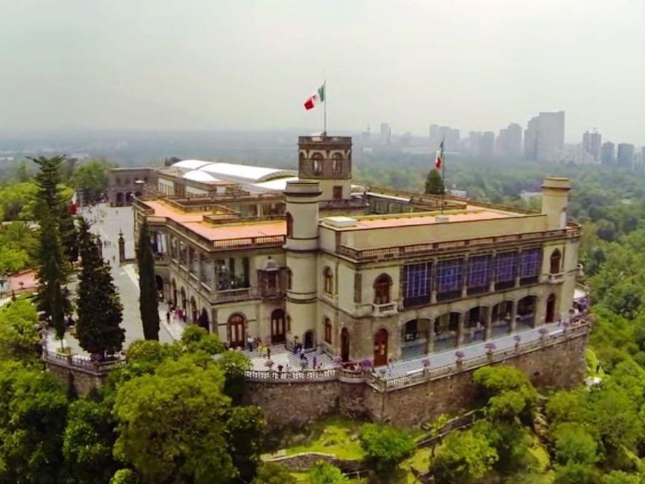 Cahpultepec Castel at Marquis Reforma