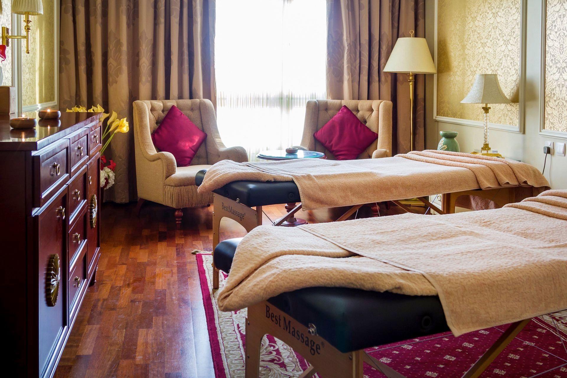 غرفة التدليك في ورويك الدوحة