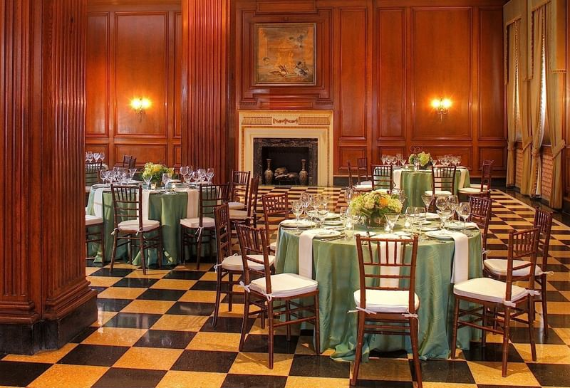 The Forrest Room at the Peabody Memphis - Weddings and Events