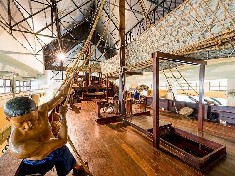 National Maritime Museum near Chatrium Golf Resort Soi Dao Chanthaburi