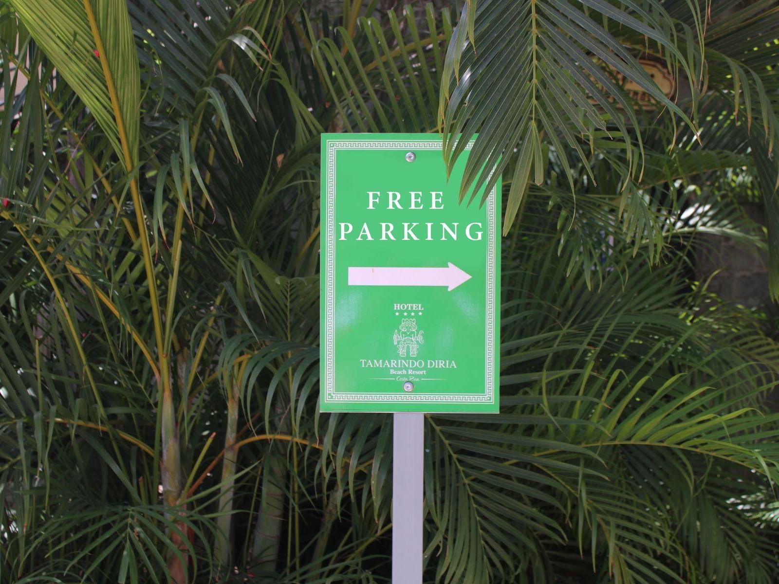 Free Parking at Jardín del Edén Boutique Hotel