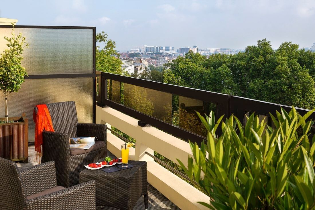 Suite terras in Hotel Barsey by Warwick