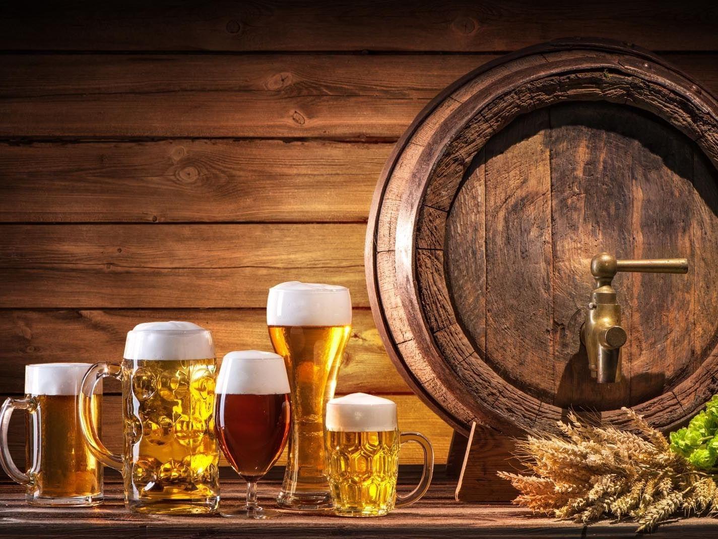 beers at Precise Resort Marina Wolfsbruch