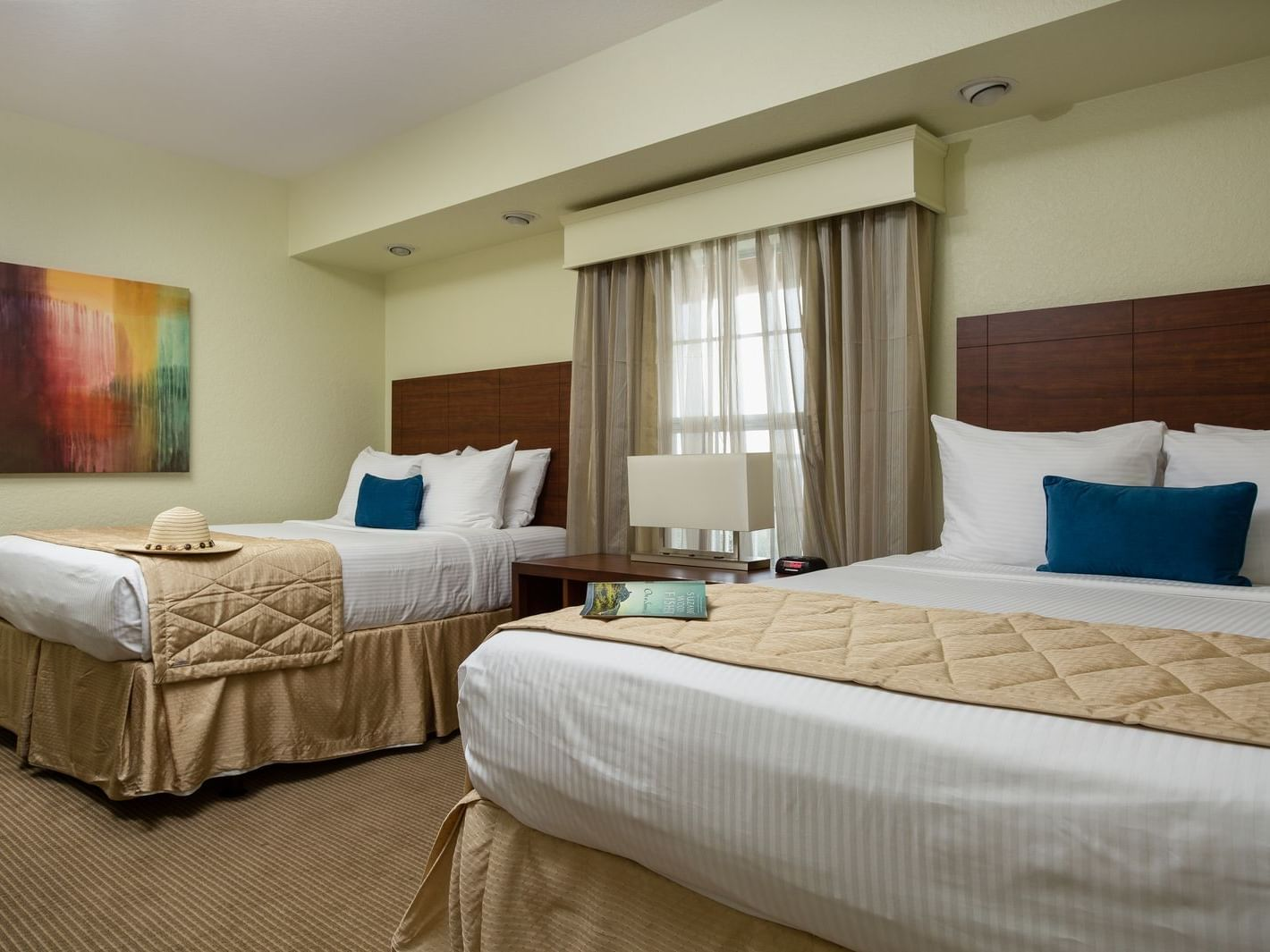 Three Bedroom Lock-Off Room with two beds at Mystic Dunes Resort