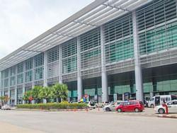 Exterior view of Yangon International Airport near Chatrium Hotel Royal Lake Yangon