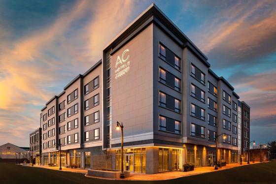 exterior of ac hotel