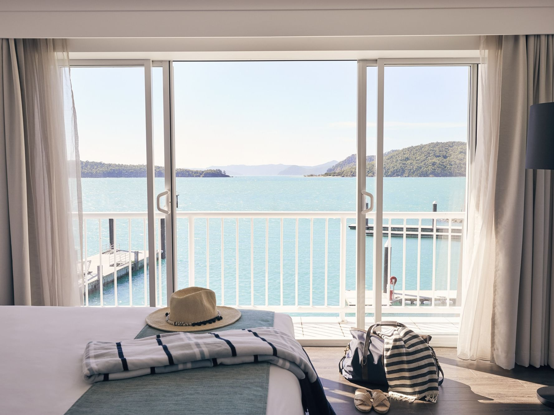 Ocean view from Superior room at Daydream Island Resort